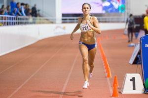 Atlétka Alexandra Štuková v behu žien na 800 m.