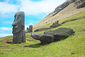Sochy na Veľkonočnom ostrove.