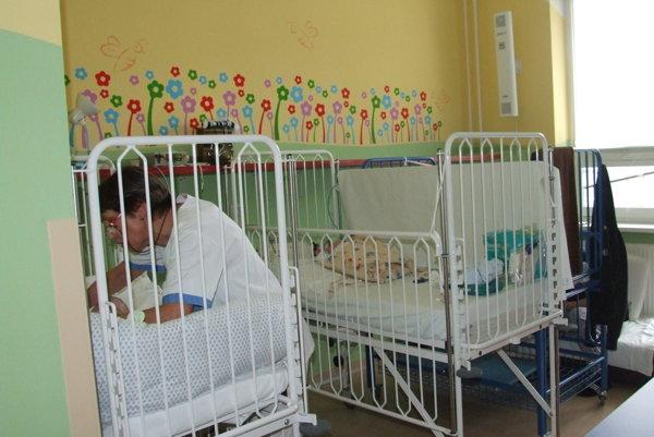 Izba na úseku malých detí.