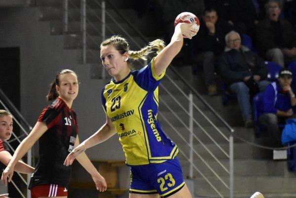 Katsiaryna Dubovcová dala vZlíne až 9 gólov.