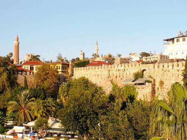 Antalya: Mestské hradby.