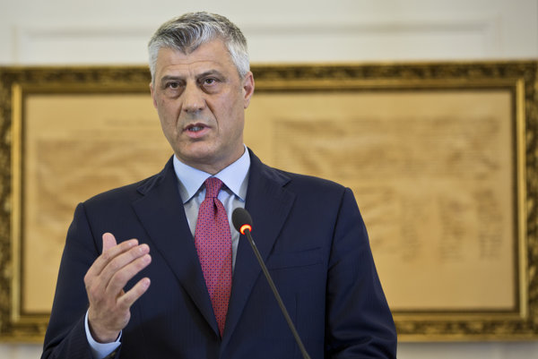 Kosovský prezident Hashim Thaci.