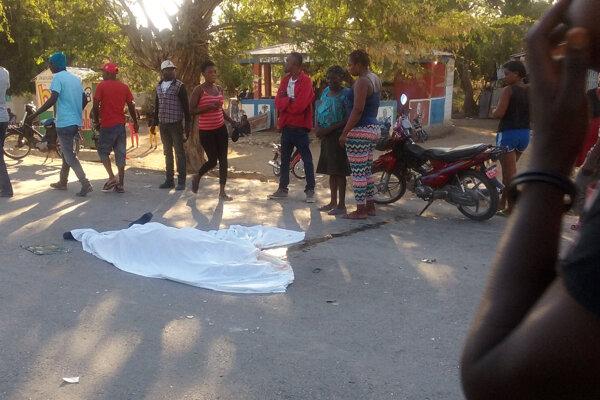 Tragická nehoda na Haiti.