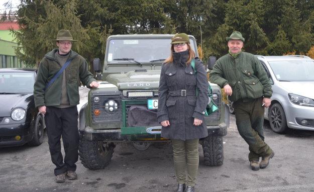 Navšteva pracovníkov zLesného apozemkového spoločenstva obce Zborov nad Bystricou.