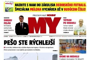 Titulná strana týždenníka MY Prešovské noviny č. 10/2017.