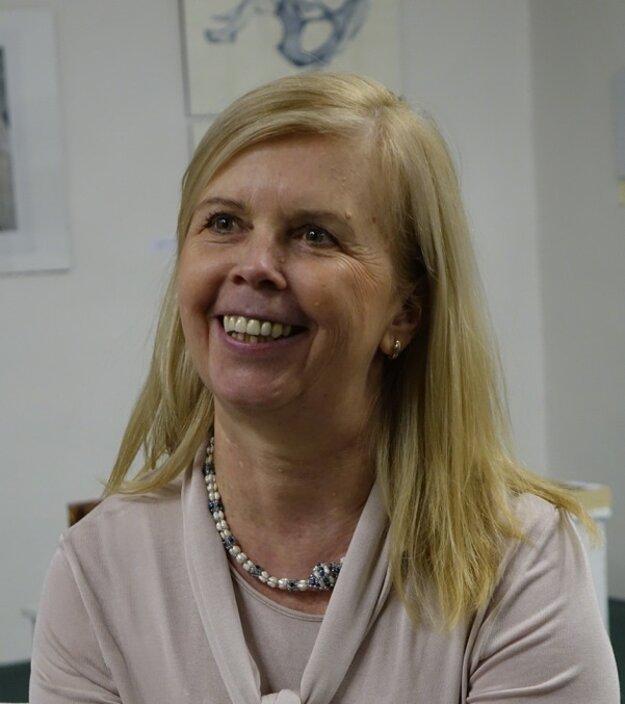 Iveta Zaťovičová.
