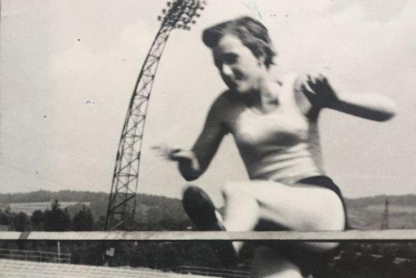 Bežkyňa. Eva Poláková začínala ako šprintérka a prekážkarka.