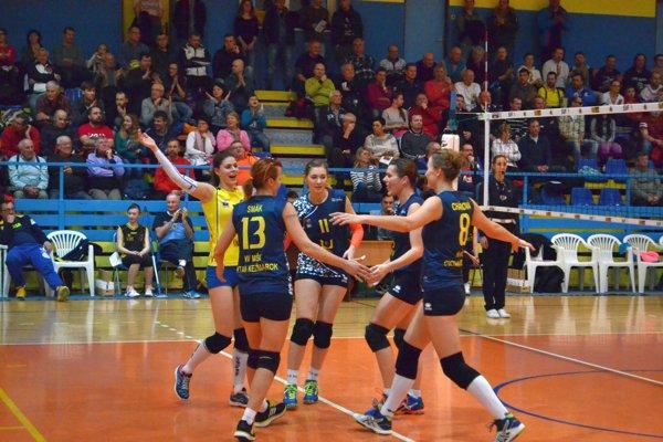 Víťazstvo favorita. Kežmarok zdolal Prešov 3:0 na sety.