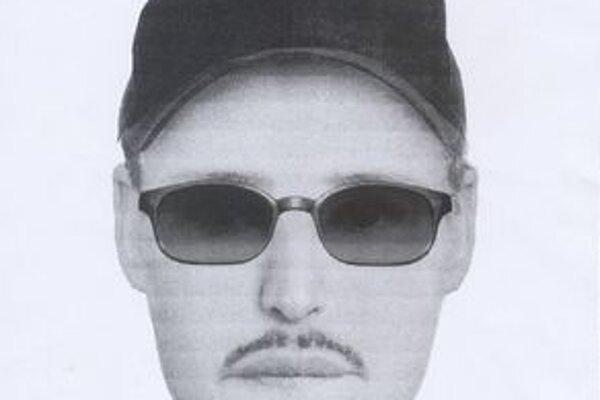 Identikit páchateľa, ktorý vo štvrtok lúpežne prepadol herňu na Bojnickej ceste.