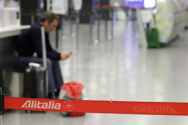 Štrajk na letisku v Taliansku.