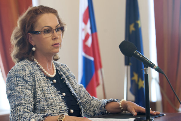 Predsedníčka Ústavného súdu Ivetta Macejková.