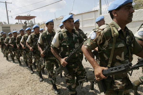 Misia OSN pre udržovanie bezpečnosti a stability na Haiti sa začala v roku 2004. (Zdroj: TASR/AP)