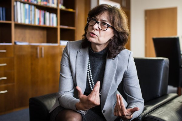 Śéfka ministerstva spravodlivosti Lucia Žitňanská.