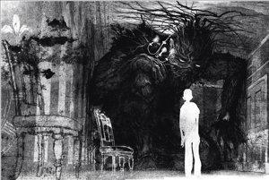 Ilustrácia z knihy Sedem minút po polnoci.