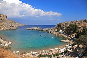 Turistický sprievodca: Dovolenka na Rodose