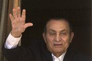 Husní Mubarak.