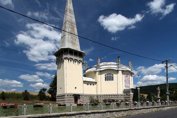Kostol sv. Alžbety.