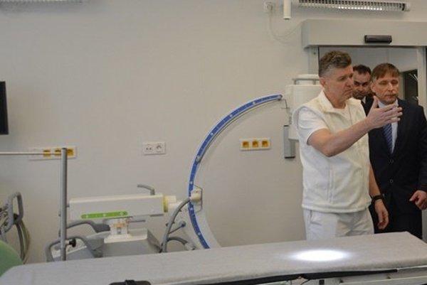 Župa buduje moderné urgentné príjmy. Prvý otvorila v Kysuckej nemocnici v Čadci.