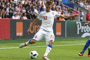 Vladimír Darida strelil v nedeľu v drese českej reprezentácie dva góly.