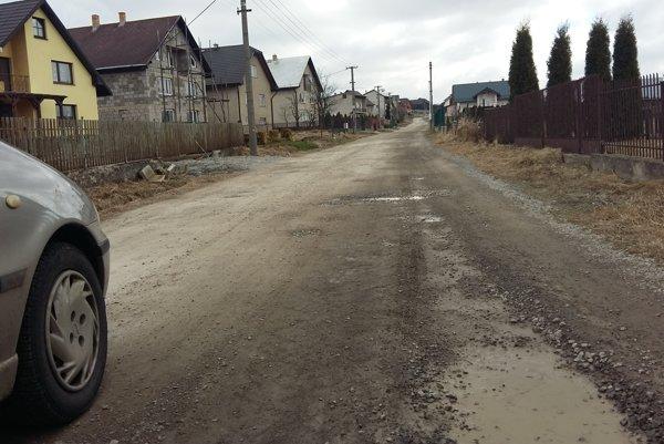Ulica Pod Havraňákom dostane tento rok nový povrch.