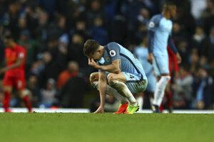 Manchester City bol potrestaný pokutou za správanie svojich hráčov.