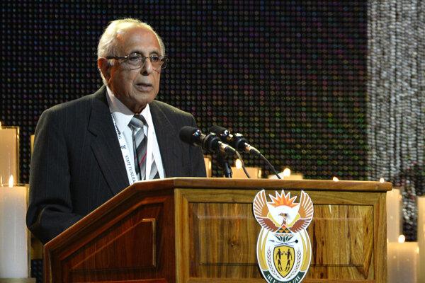 Ahmed Kathrada dlhoročný bojovník proti apartheidu.