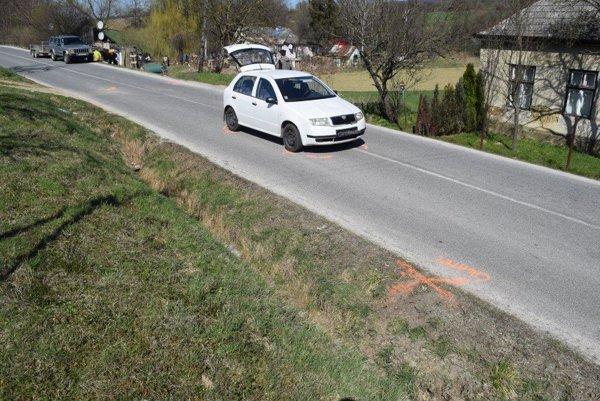 V obci Prašník zrazilo auto osemročného chlapca.