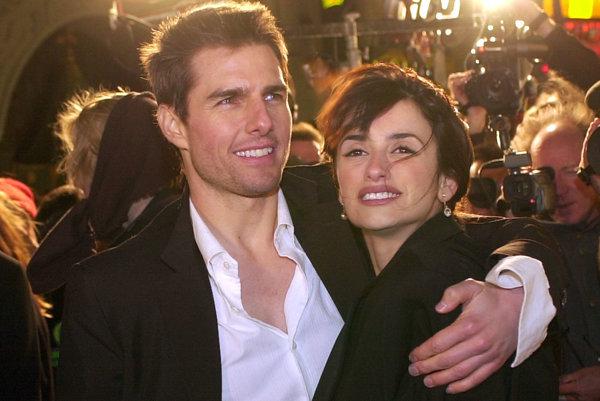 Penelope Cruz a Tom Cruise
