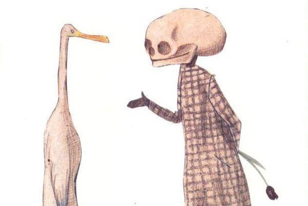 Kačka, smrť a tulipán.