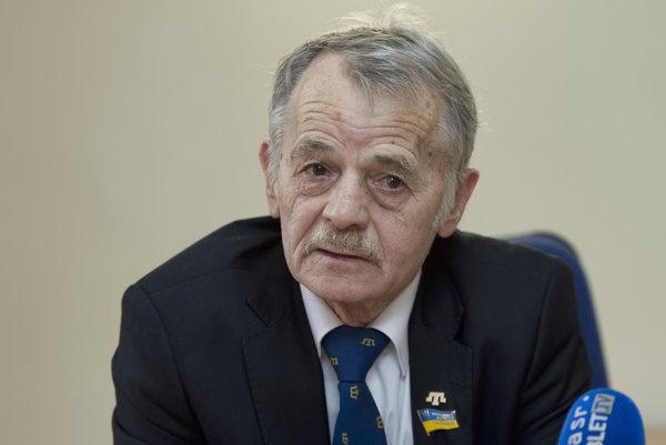 Vodca krymských Tatárov Mustafa Džemilev.
