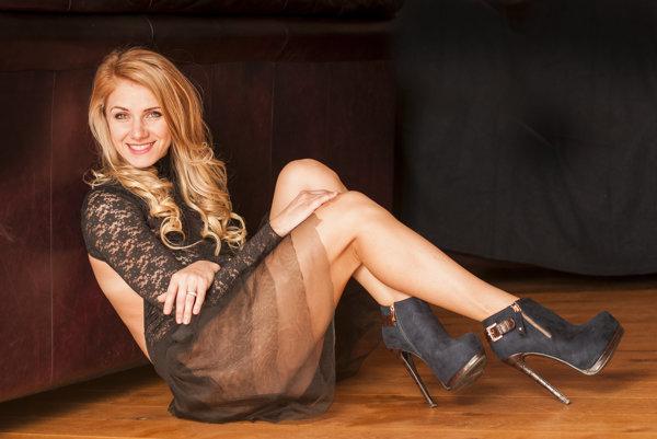 Tanečníčka Marina Vlasenko z Ruska