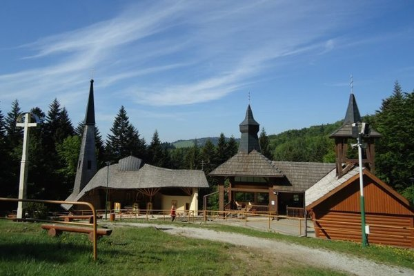 Hora Zvir nad obcou Litmanová.