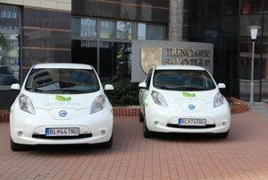 Nové elektromobily.