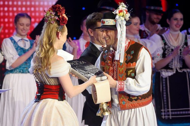 Peter Pohančaník z víťazného súboru Urpín.