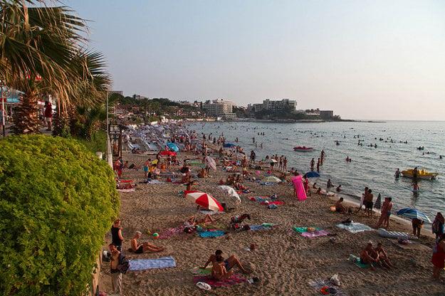 Populárna Ladies Beach.