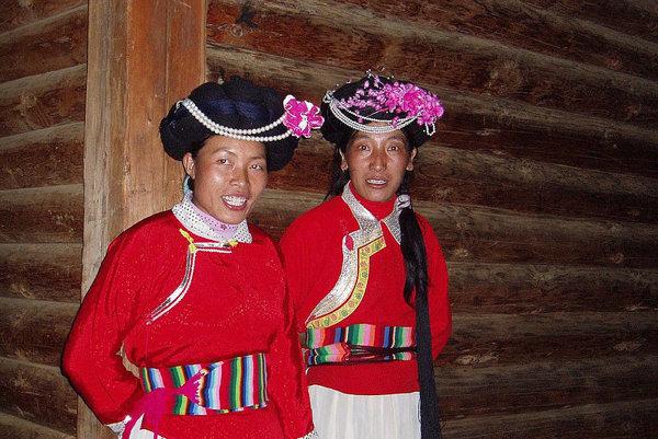 Ženy z kmeňa Mosuo