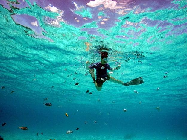Zaujímavé šnorchlovanie možno zažiť vo východnom Stredomorí.