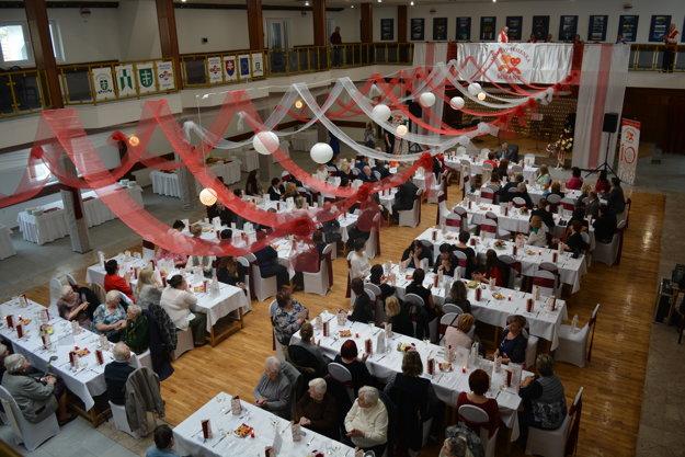 Oslavy 10. výročia činnosti Domova Jesienka Šurany