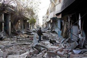Na Kobani islamisti zaútočili namiesto oslabeného Aleppa. Tu nemusia bojovať so sýrskou armádou.