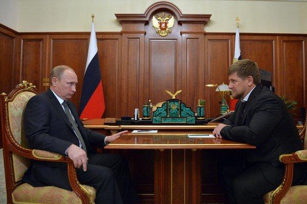 Kadyrov a Putin.