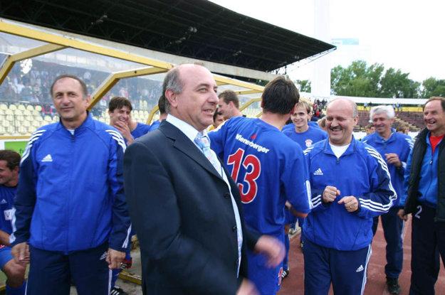 Hrdý a šťastný bol aj majiteľ klubu Viliam Ondrejka.