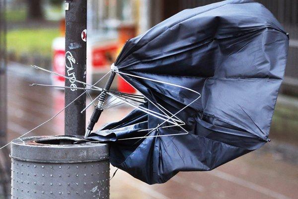 Prognóza na dnes, vietor a dážď.