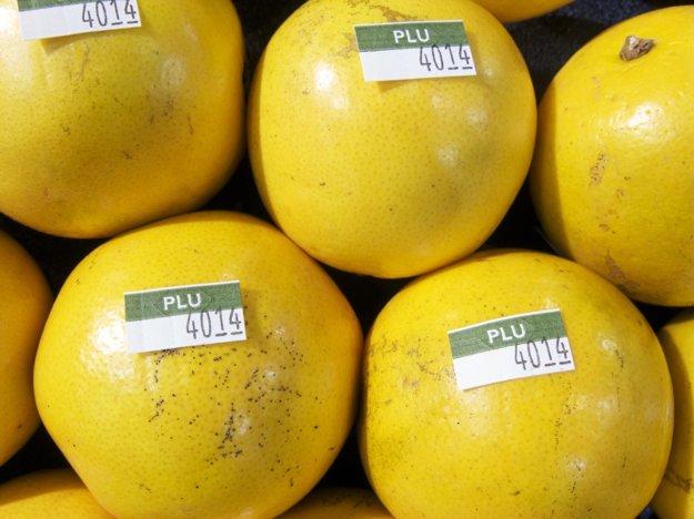 PLU kód na pomarančoch