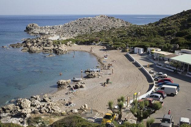 Pobrežie na ostrove Rhodos.