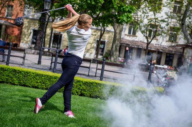 Lea Klimentová, slovenská reprezentantka v golfe.