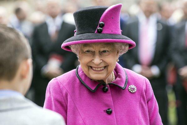 Kráľovná Alžbeta.