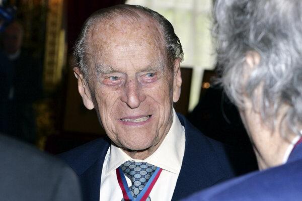 Britský princ Filip, vojvoda z Edinburghu.