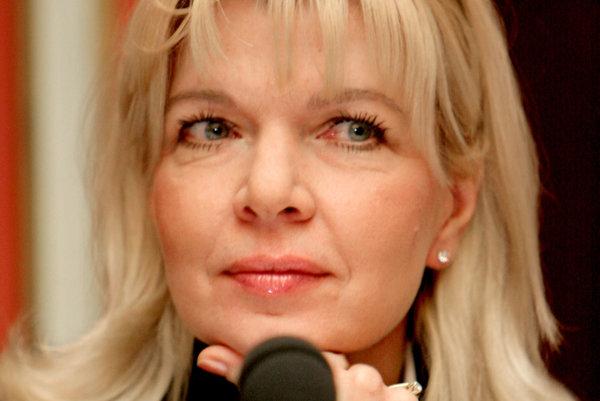 Bývalá šéfka Markízy Zuzana Ťapáková sa chce stať riaditeľkou RTVS.