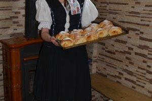 Folkloristka z Pohronskej Polhory Terézia Falťanová.
