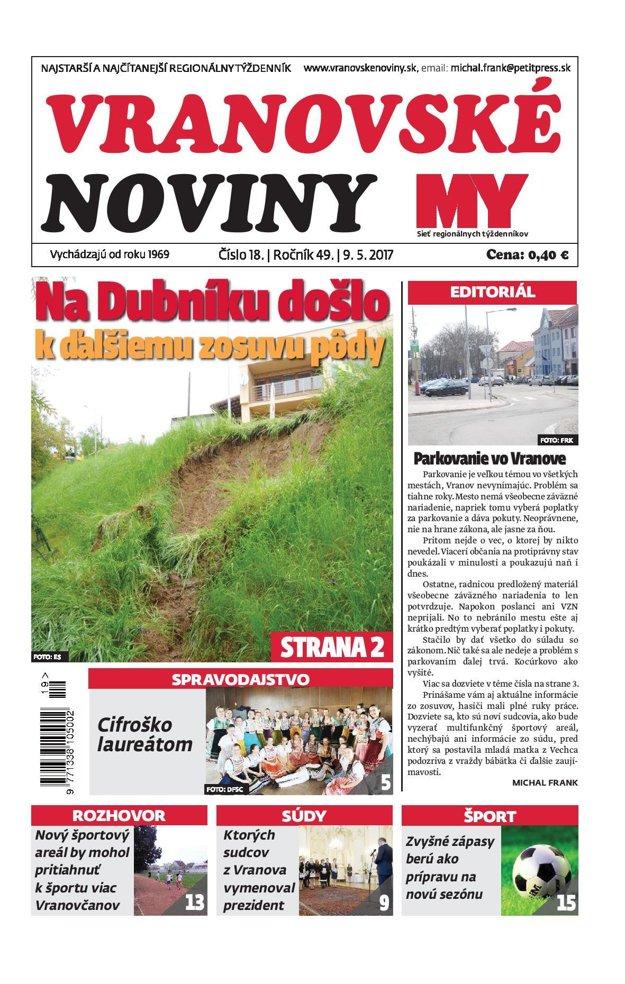 Vranovské noviny.